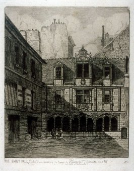 Rue Saint Paul, from L'Ancien Paris