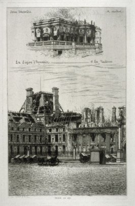 Ruins of the Legion of Honor and Tuileries Palace