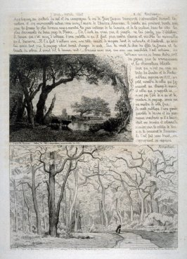 Two landscape etchings from Illustration Nouvelle
