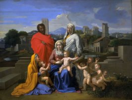 The Holy Family with Ten Figures