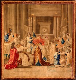 Confirmation (from The Seven Sacraments series)poussin