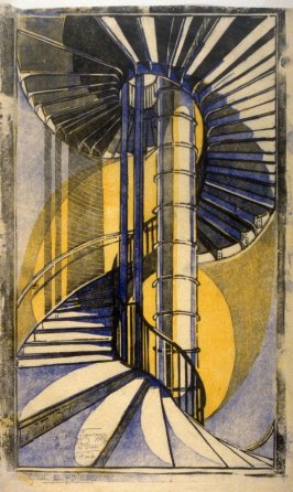 The Tube Staircase (Russell Square Tube Station)