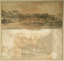 San Francisco, Upper California in 1847 from cornerstone of old San Francisco City Hall