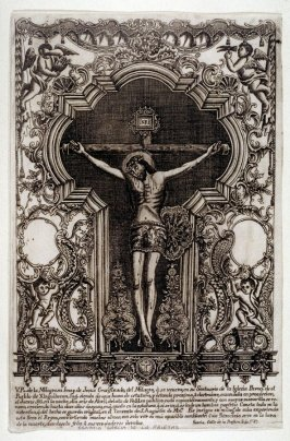 Miraculous Image of Christ on the Cross from the Sanctuary of the Parish Church at the Pueblo of Xinguílucan