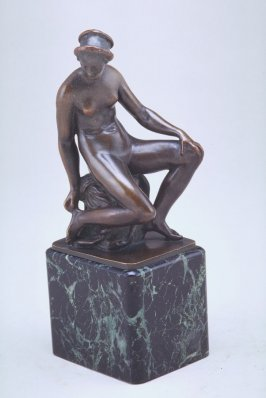 Seated Nude figure