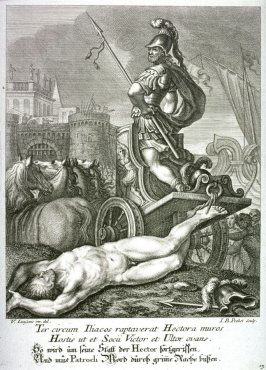 Achilles remains alive while Hector gets killed