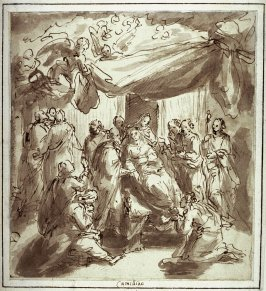 Death of St. Mary