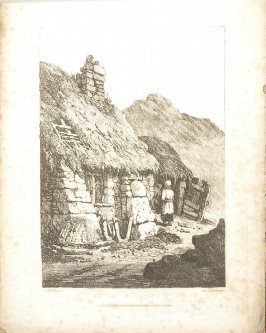 Dartmoor, plate 12 in the book A New Drawing Book in the Manner of Chalk, containing Twelve Views in the West of England (London: R. Ackermann, 1819)