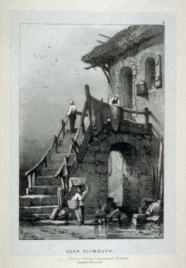 Near Plymouth, plate 5 in the book Sketches at Home and Abroad (London: M. A. Nattali, 1844)