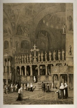 St. Mark's, Venice, twenty-third plate in the book Sketches in France, Switzerland and Italy (London: Hodgson & Graves, [ca. 1840])