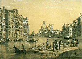 S.M. della Salute, Venice, twentieth plate in the book Sketches in France, Switzerland and Italy (London: Hodgson & Graves, [ca. 1840])