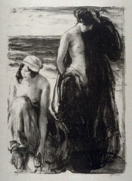 Young Women at the Seashore