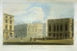 Pall Mall East No.59 from R. Ackermann's Repository of Arts