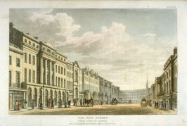 The New Street looking towards the Quadrant from R. Ackermann's Repository of Arts