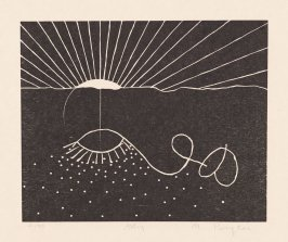 Avey from the extra suite of prints accompanying the book Cane by Jean Toomer (San Francisco: Arion Press, 2000)
