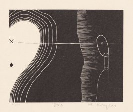 Bona from the extra suite of prints accompanying the book Cane by Jean Toomer (San Francisco: Arion Press, 2000)