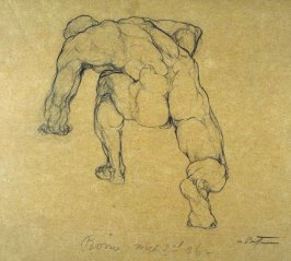 Untitled (Study of Nude Male Model)
