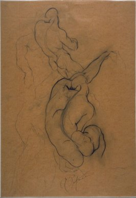 Untitled (Studies of Nude Male Model)