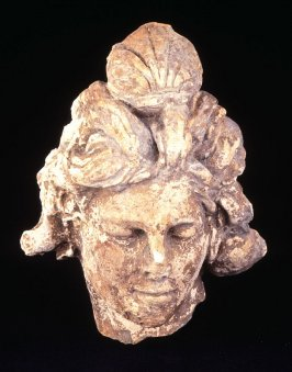 Head of a mermaid