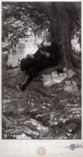 Reading and smoking beneath a tree