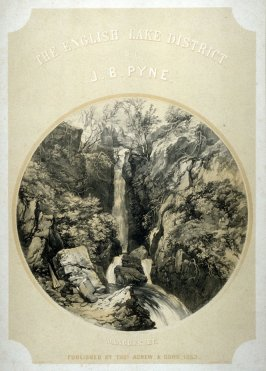 Title page to the series 'The English Lake District', by J.B. Pyne