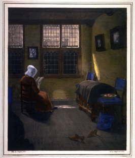 Woman at the Window reading