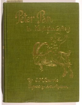 Peter Pan in Kensington Gardens by J.M. Barrie (New York: Charles Scribner's Sons, 1907)