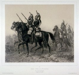 One from Souvenirs d'Italie- Expedition de Rome, 1849