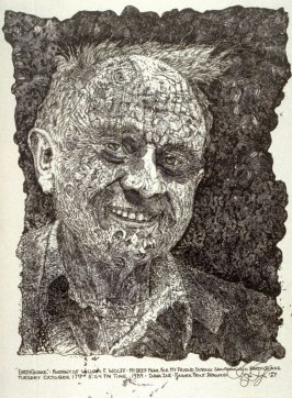 """Earthquake"" Portrait of William F. Wolff"