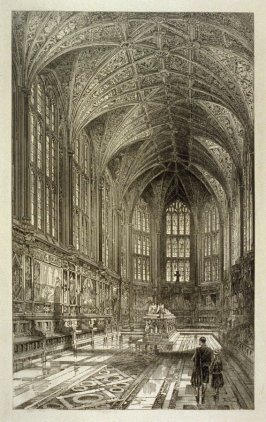Interior of the Memorial Chapel, Windsor Castle
