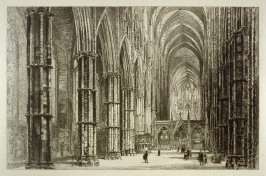 Westminster Abbey Series XII - The Interior of the Nave