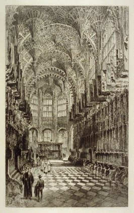 Westminster Abbey Series XI - Interior of Henry VII's Chapel