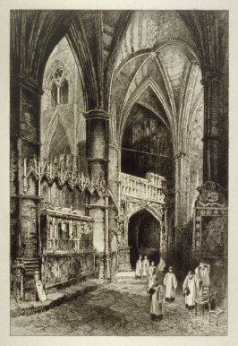 Westminster Abbey Series X - South Aisle of the Choir