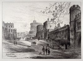 The Lower Ward, Windsor Castle