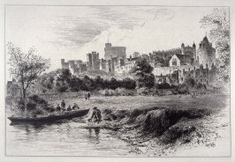 Windsor Castle from the Bershire Bank of the River
