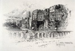 East Front, Haddon Hall