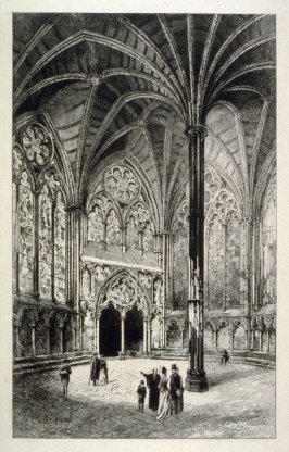 The Chapter House, Westminster Abbey.