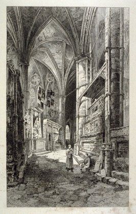North Aisle of the Choir,Westminster Abbey.