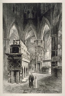 Interior, Westminster Abbey.