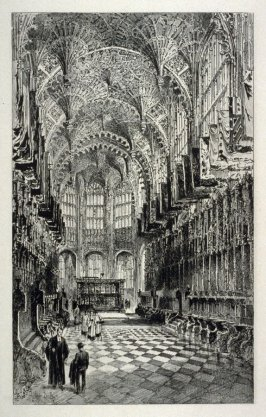 Interior of HenryVII Chapel, Westminster Abbey.