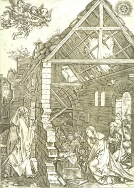 The Nativity, pl. 9 from the series The Life of the Virgin