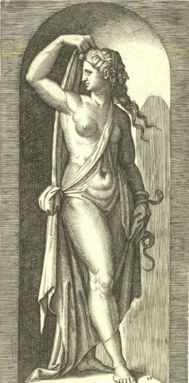 Prudence, after Raphael, from the series The Seven Virtues