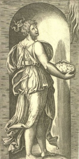 Hope, from the series The Seven Virtues after Raphael