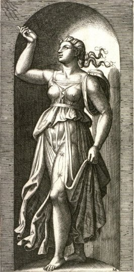 Faith, pl. 2 from the series The Seven Virtues after Raphael