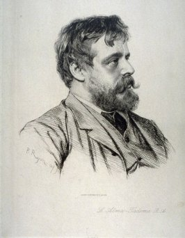 Portrait of Sir Lawrence Alma-Tadema, R.A.