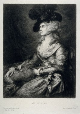 Mrs. Siddons, published in the Gazette des Beaux-Arts