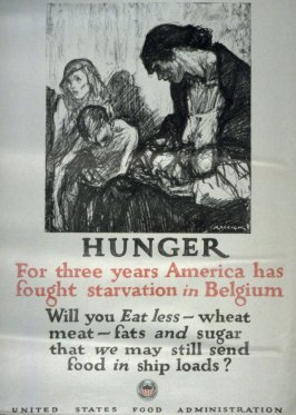 Hunger- World War I Poster