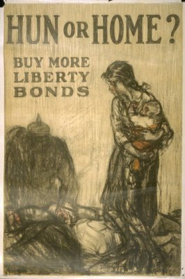 Hun or Home? - World War I poster