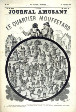 Le Journal Amusant: Le Quartier Mouffetard