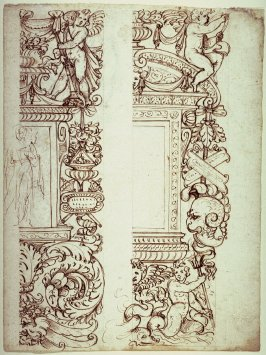 Recto: Ornamental Designs 
